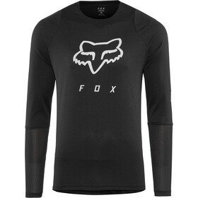Fox Defend Foxhead LS Jersey Herre black